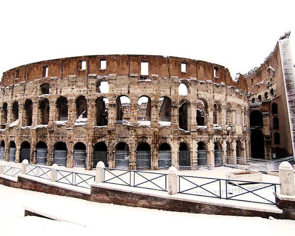 Colosseum Poster featuring the photograph Colosseum by Fabrizio Troiani