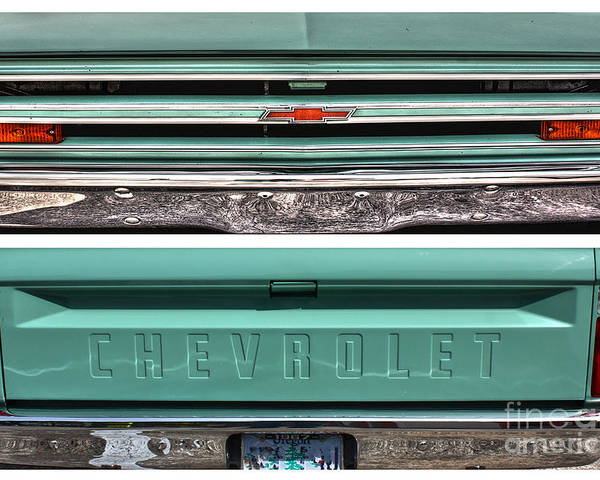 Chevrolet Poster featuring the photograph Coming Or Going--still A Chevy by David Bearden