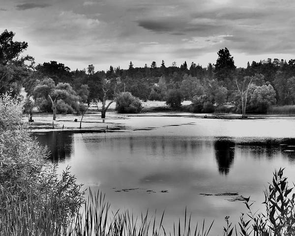 Landscape Poster featuring the photograph D'agostini Lake by Mike Duerr