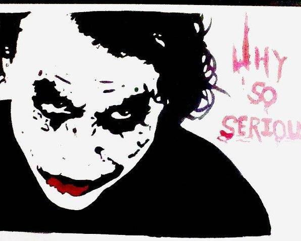 dark knight joker poster by priyanka patil