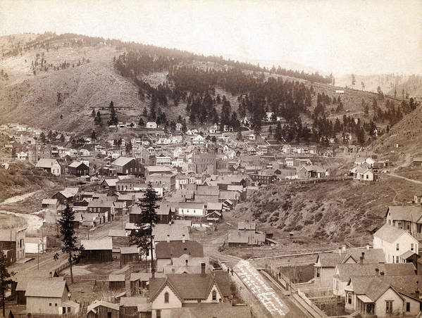 1880s Poster featuring the photograph Deadwood From Engleside. Deadwood by Everett