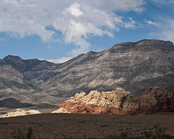 Red Rock Canyon Poster featuring the photograph Desert Sunlight by Daniel Milligan
