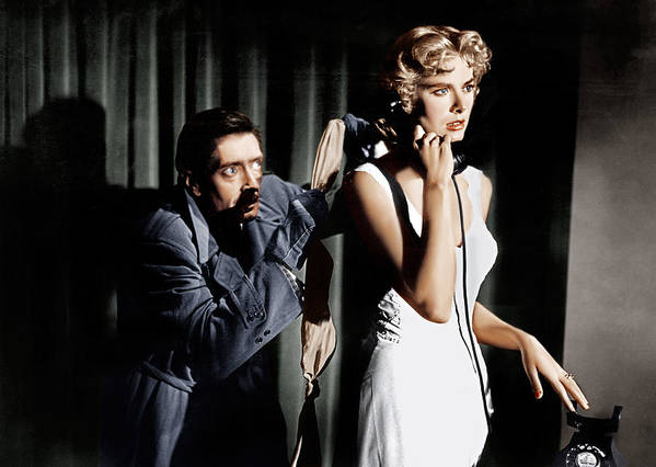 1950s Movies Poster featuring the photograph Dial M For Murder, From Left Anthony by Everett