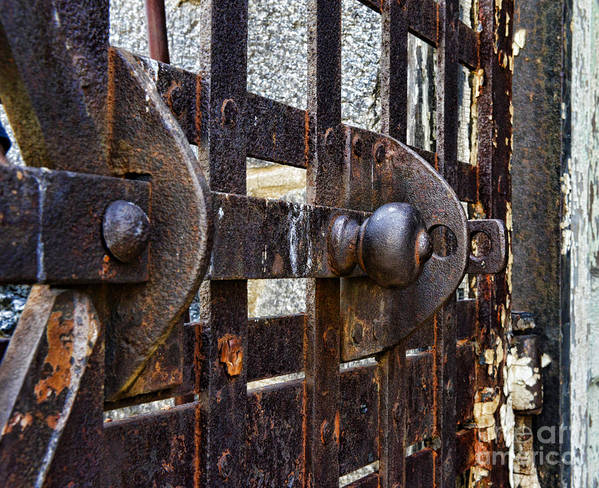 Eastern State Penitentiary Poster featuring the photograph Door To Death Row by Paul Ward