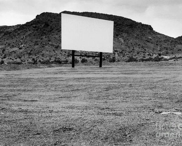 Drive In Movie Poster featuring the photograph Drive In Movie Theater by Homer Sykes