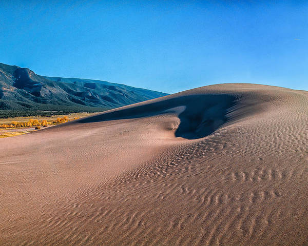 Colorado Poster featuring the photograph Dune 2 by Jennifer Litchfield