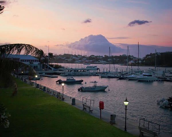 Barrs Park Poster featuring the photograph Early Morning Hamilton Harbor by Tom Singleton