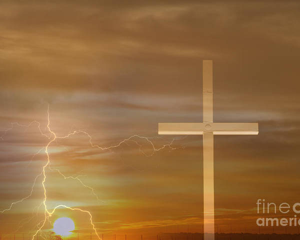 Easter Poster featuring the photograph Easter Sunrise by James BO Insogna