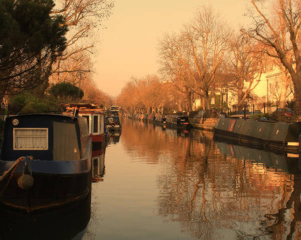 Little Venice Poster featuring the photograph Easy Afternoon by Jasna Buncic