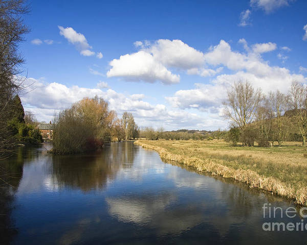 Outdoor Poster featuring the photograph English Countryside1 by Jane Rix