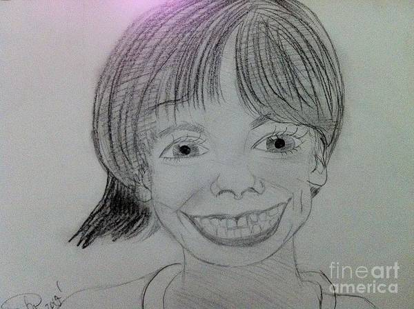 The Late Missing Child Poster featuring the drawing Etan Patz by Charita Padilla
