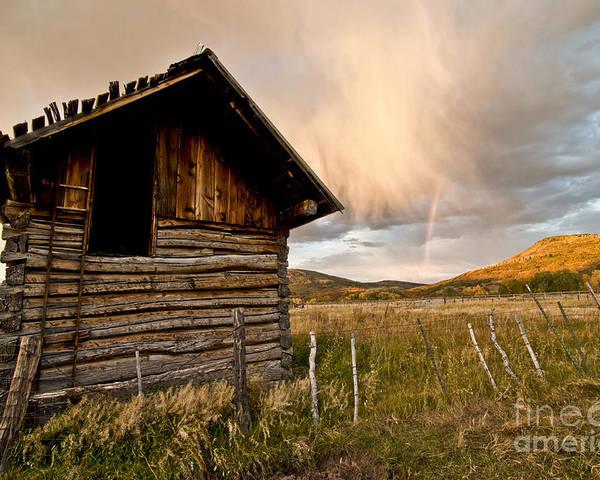 Durango Poster featuring the photograph Evening Storm by Jeffrey Kolker