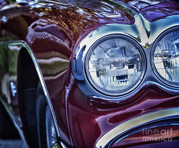 Headlights Poster featuring the photograph Eyes Or Headlights by Tamera James