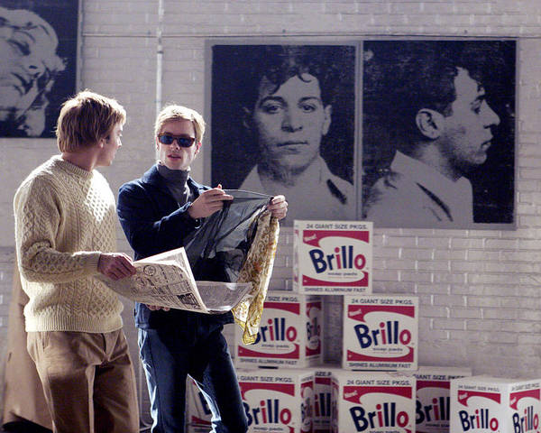 1mmy08 Poster featuring the photograph Factory Girl, Guy Pearce As Andy by Everett