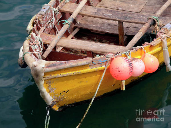 Sea Poster featuring the photograph Fishing Boat by Carlos Caetano