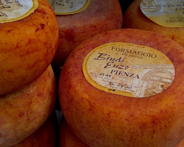 Multipuliciano Poster featuring the photograph Formaggio Cheese Of Italy by Roger Mullenhour