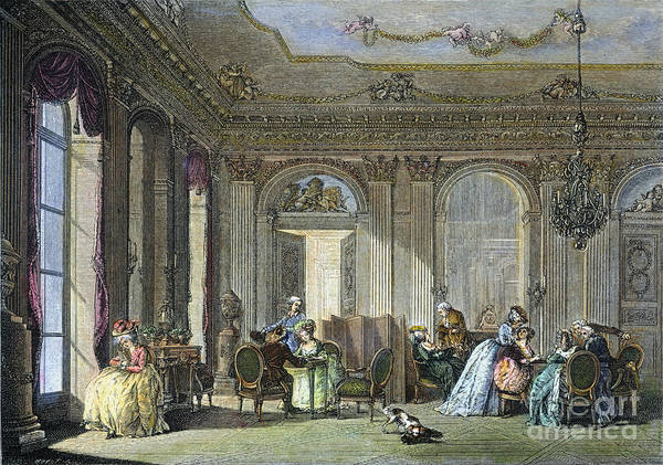 Image result for image 18th century salon