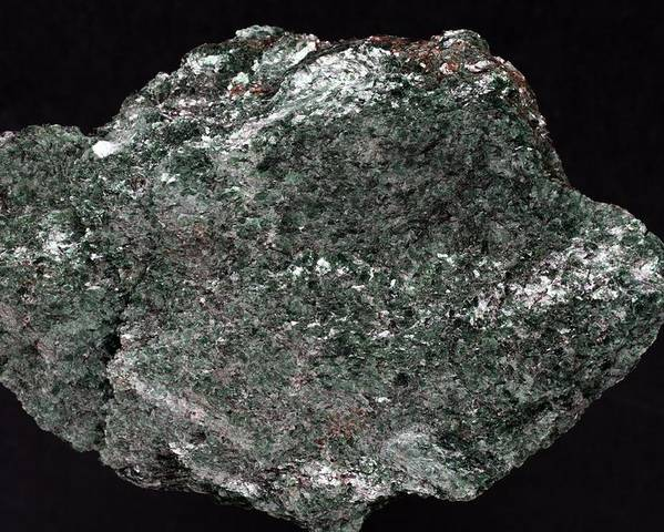 Fuchsite Poster featuring the photograph Fuchsite Mineral Sample by Dirk Wiersma