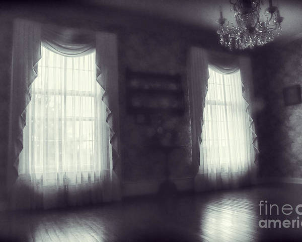 Room Poster featuring the photograph Ghosts by HD Connelly