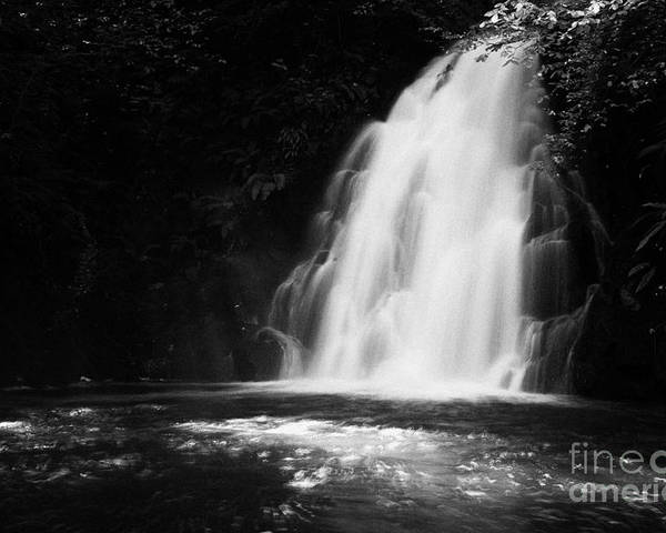 Glenoe Poster featuring the photograph Gleno Or Glenoe Waterfall County Antrim Northern Ireland by Joe Fox