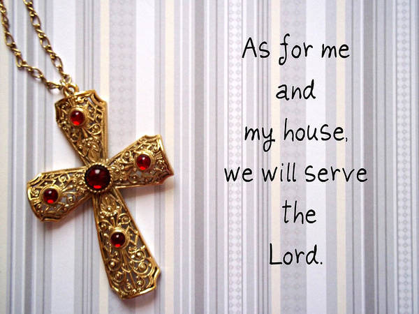 Lord Poster featuring the jewelry Gold Cross by Cynthia Amaral