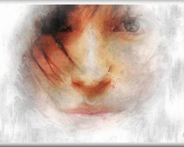 Woman Poster featuring the digital art Goodbye Winter And Snow by Gun Legler