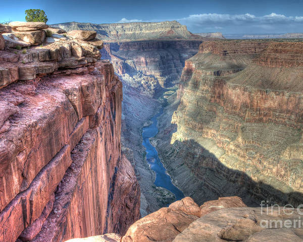 Grand Canyon Poster featuring the photograph Grand Canyon Toroweap Vista by Bob Christopher