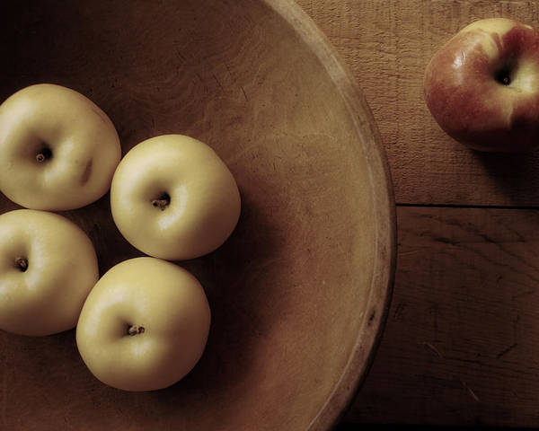 Apples Poster featuring the photograph Grandma's Kitchen by Toni Hopper
