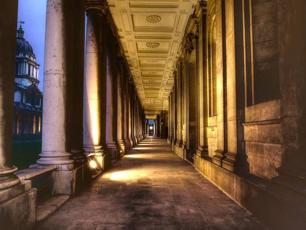 Greenwich Poster featuring the photograph Greenwich Royal Naval College by David French