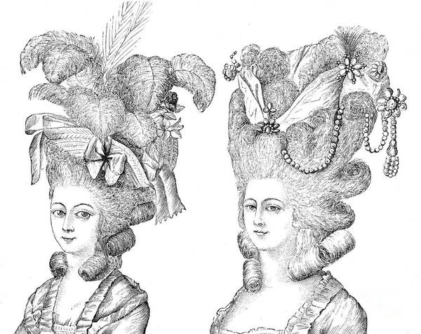 Hairstyle 18th Century Poster By Granger