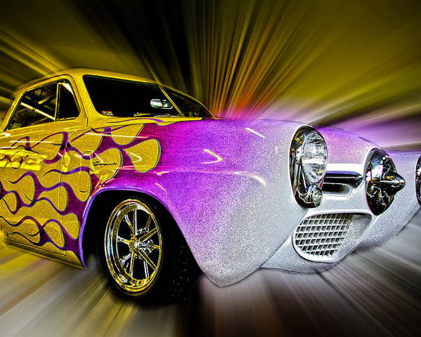 Vehicle Poster featuring the photograph Hot Rod Art by Steve McKinzie