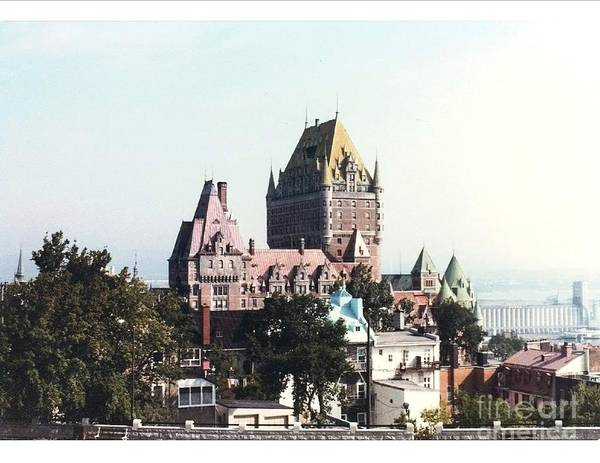 Chateau Photograph Poster featuring the photograph Hotel Frontenac Quebec Canada by Cedric Hampton