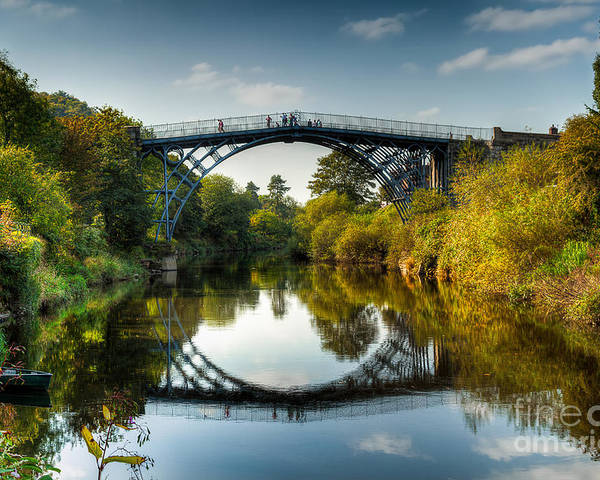 Architecture Poster featuring the photograph Ironbridge by Adrian Evans