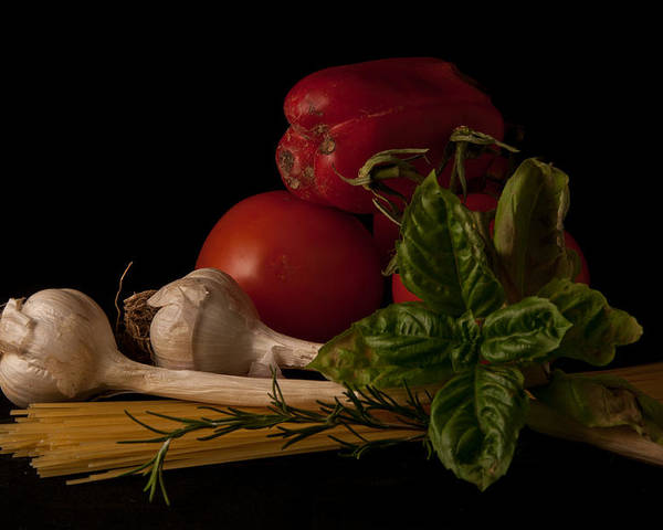 Still Life Poster featuring the photograph Italian Palate Number 2 by Constance Sanders