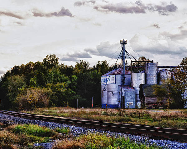 Grain Mill Poster featuring the photograph It's Graining by Kelly Reber
