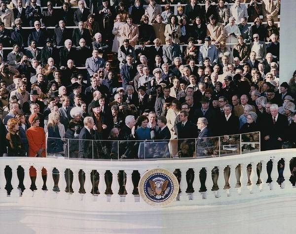 History Poster featuring the photograph Jimmy Carters 1976 Inauguration by Everett