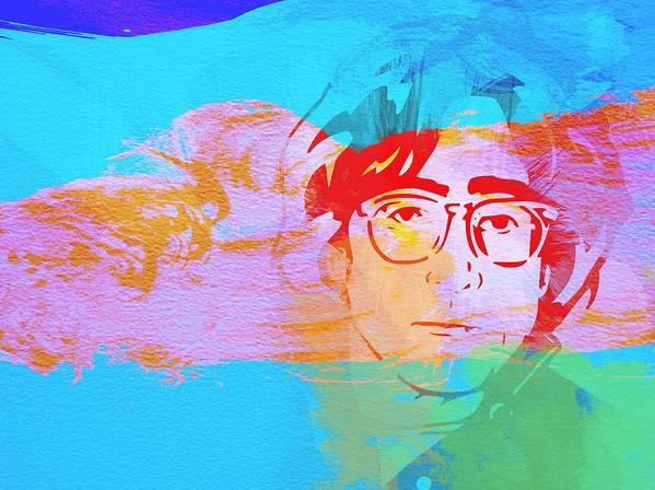 John Lennon Poster featuring the painting John Lennon by Naxart Studio