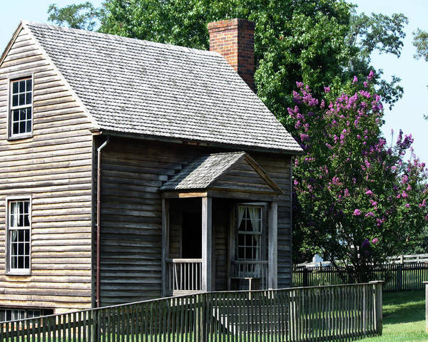 Appomattox Poster featuring the photograph Jones Law Office Appomattox Court House Virginia by Teresa Mucha