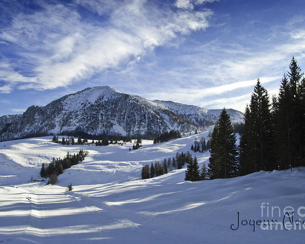 Winter Poster featuring the photograph Joyeux Noel Austria Europe by Sabine Jacobs