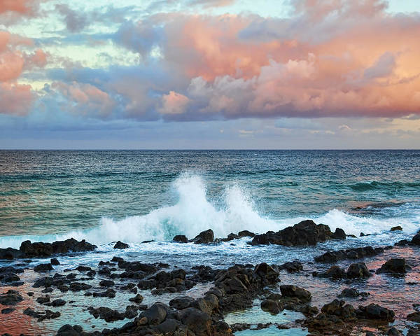 Kauai Poster featuring the photograph Kauai Sunset by Kelley King