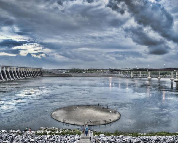 Kentucky Dam Poster featuring the photograph Kentucky Dam Dusk by Jim Pearson