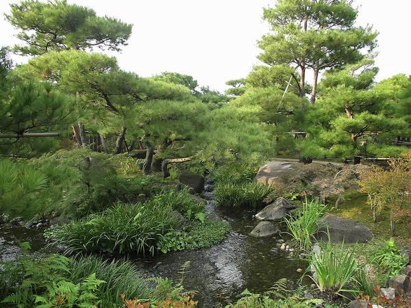 Japan Poster featuring the photograph Kokoen Samurai Gardens - Himeji City Japan by Daniel Hagerman