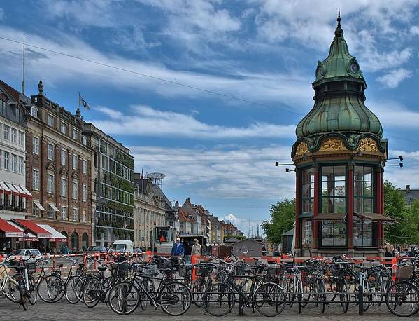 Denmark Poster featuring the photograph Kongens Nytorv by Steven Richman