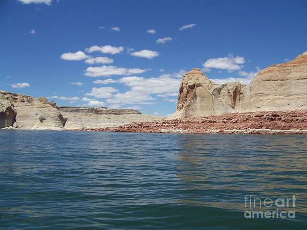 Arizona Poster featuring the photograph Lake Powell by Keith Senecal