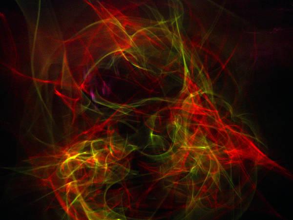 Liquid Saphire Poster featuring the photograph Liquid Saphire 30 by Cyryn Fyrcyd