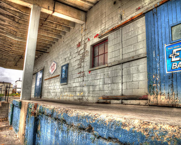 Acrylic Prints Poster featuring the photograph Loading Dock by John Herzog