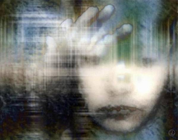 Child Poster featuring the digital art Locked In 2 by Gun Legler