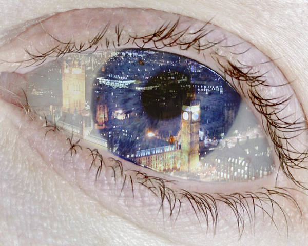 London Eye Poster featuring the photograph London Eye by Alice Gosling