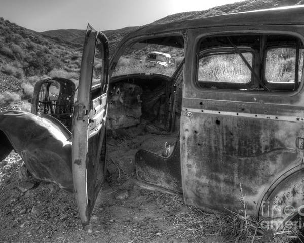 Old Cars Poster featuring the photograph Long Forgotten by Bob Christopher