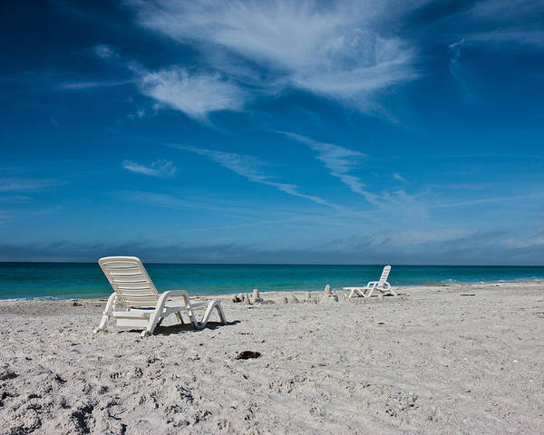 Longboat Poster featuring the photograph Longboat Key by Betsy Knapp